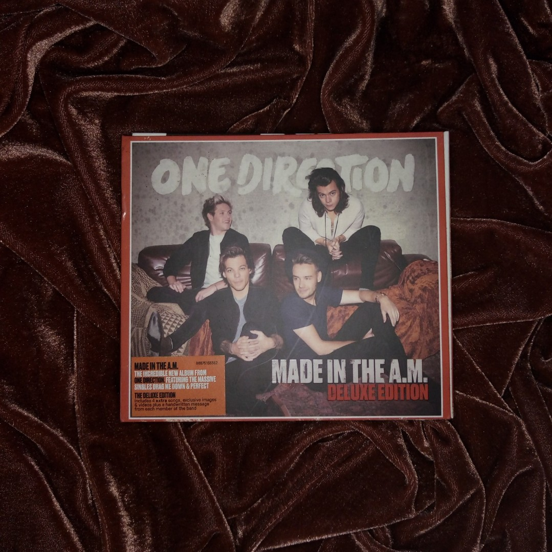 One Direction Made In The AM Album Deluxe Edition on Carousell