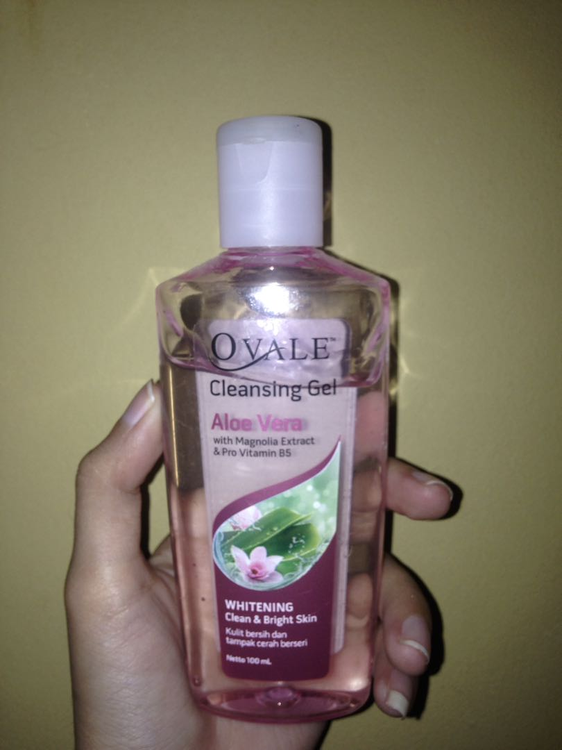 Ovale Cleansing Gel Aloe Vera Kesehatan Kecantikan Kulit Sabun Photo