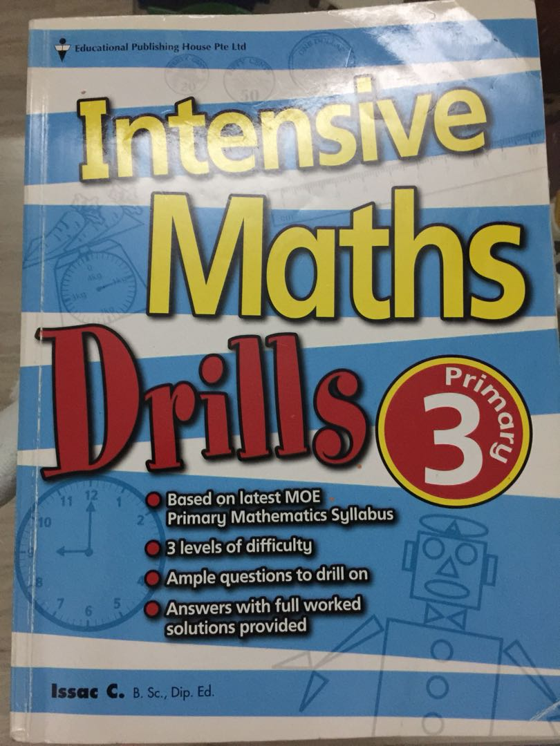 P3 Intensive Maths, Books & Stationery, Textbooks, Primary on Carousell