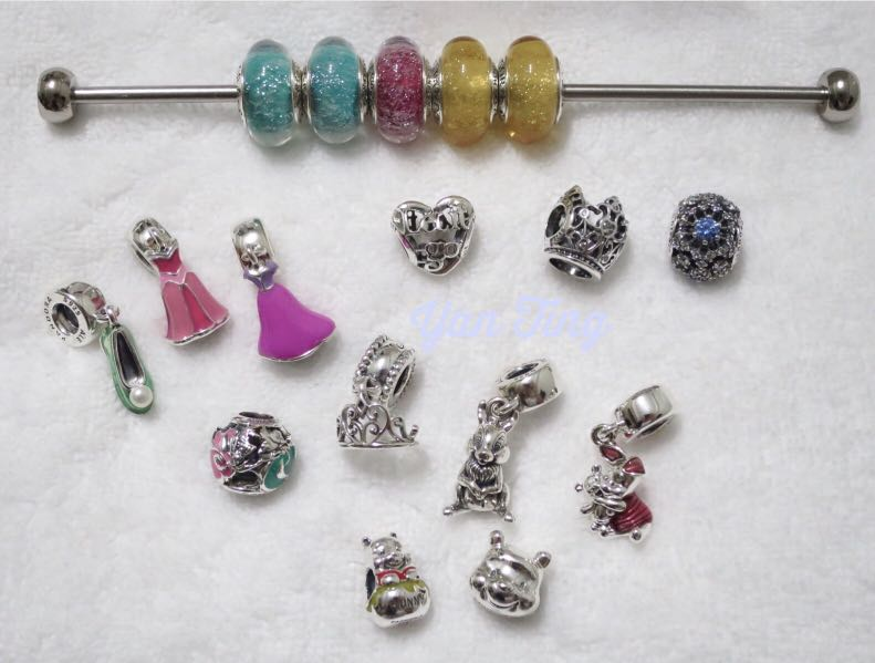 3fc041349 Pandora Disney Princess Pooh Charms, Women's Fashion, Jewellery, Bracelets  on Carousell