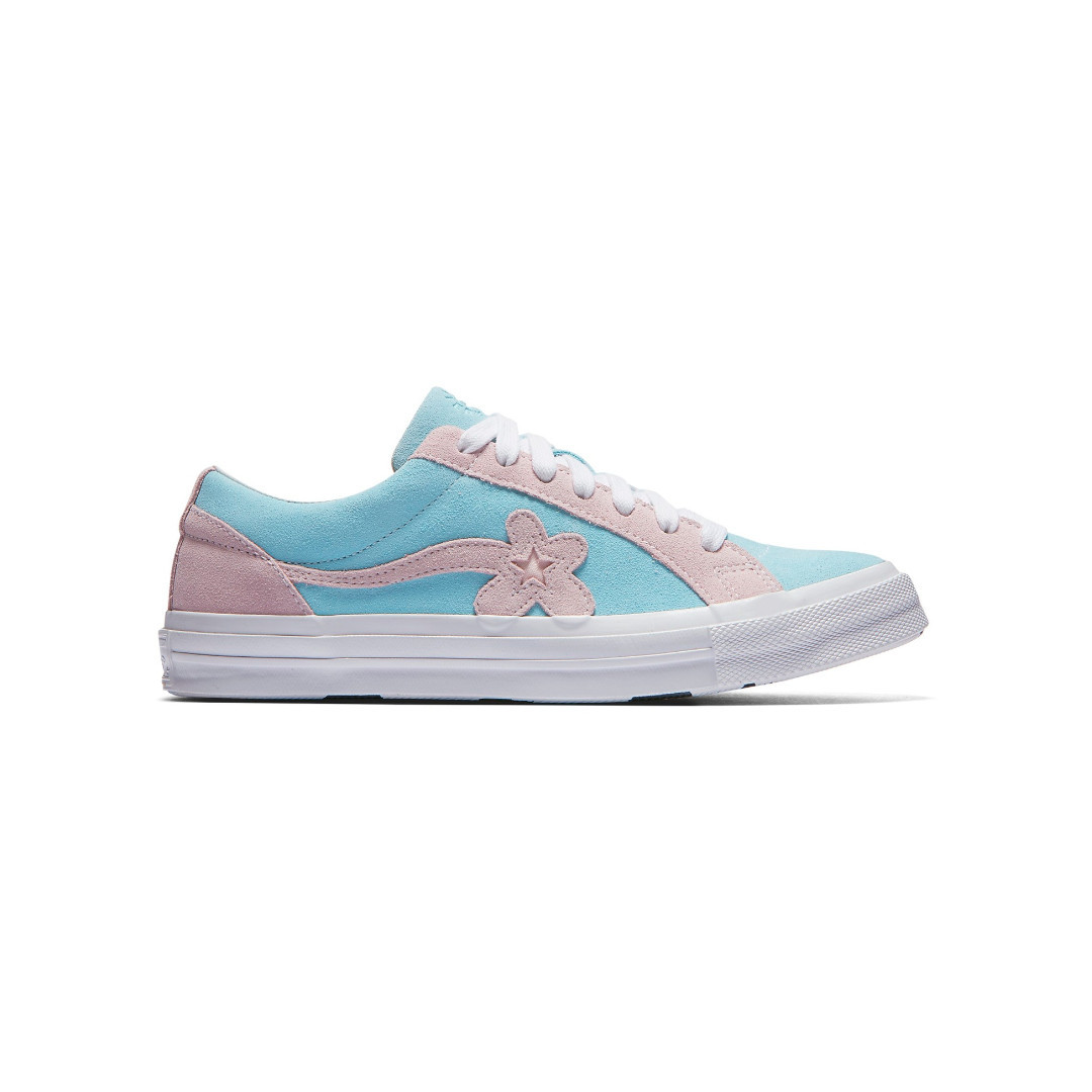 (Preorder) Converse One Star Ox Tyler the Creator Golf Le Fleur Light Blue  Pink 5ef2b944a