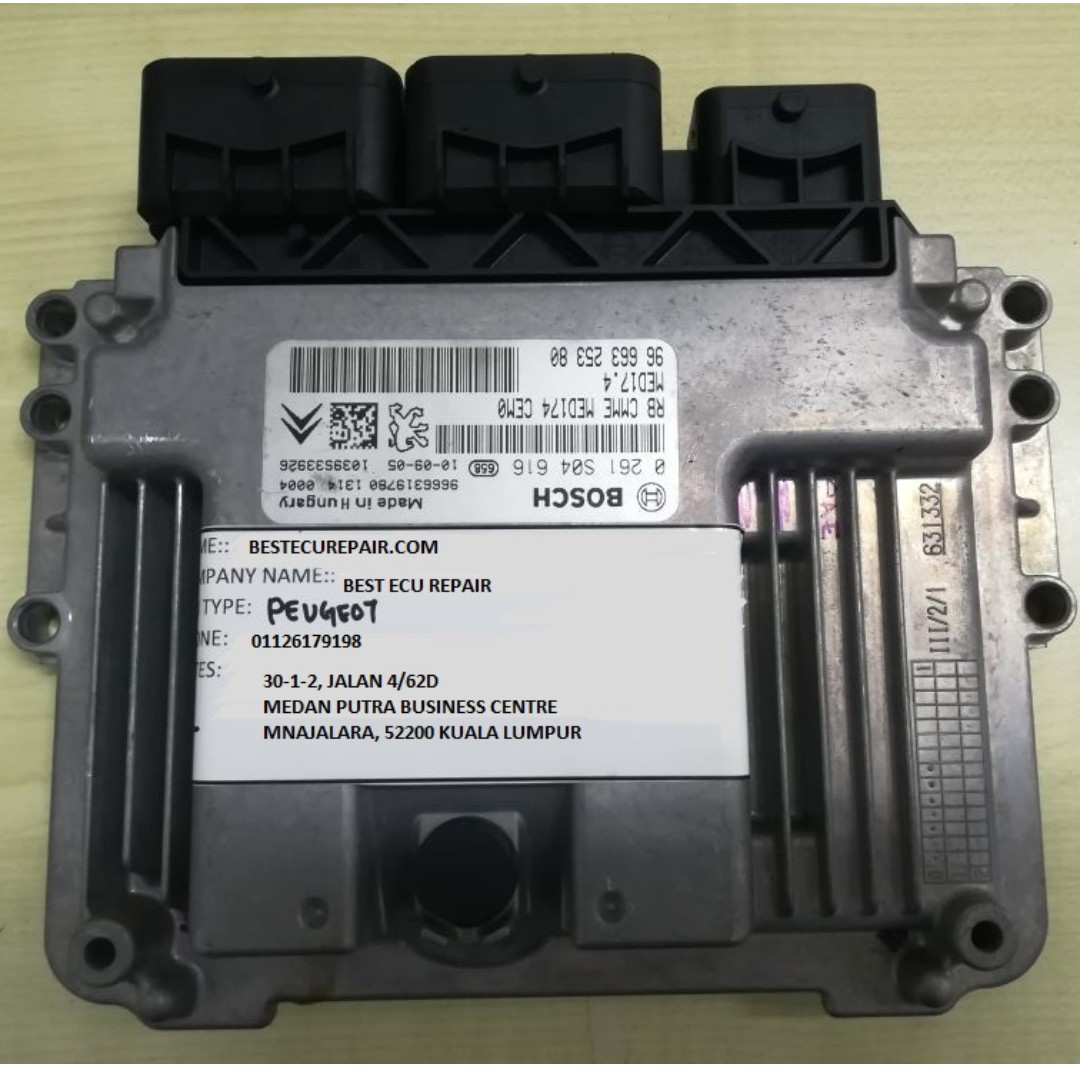 REPAIR ECU PEUGEOT MODEL 308,3008 AND 5008