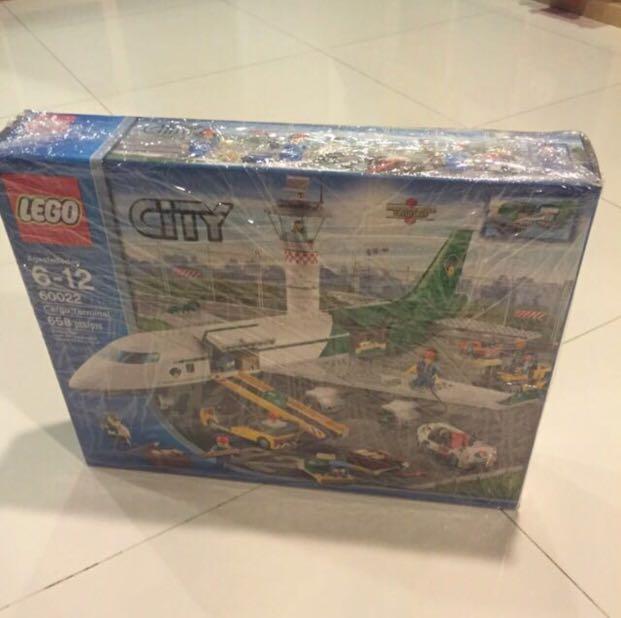 Reserved Misb Lego 60022 City Cargo Terminal Toys Games Bricks