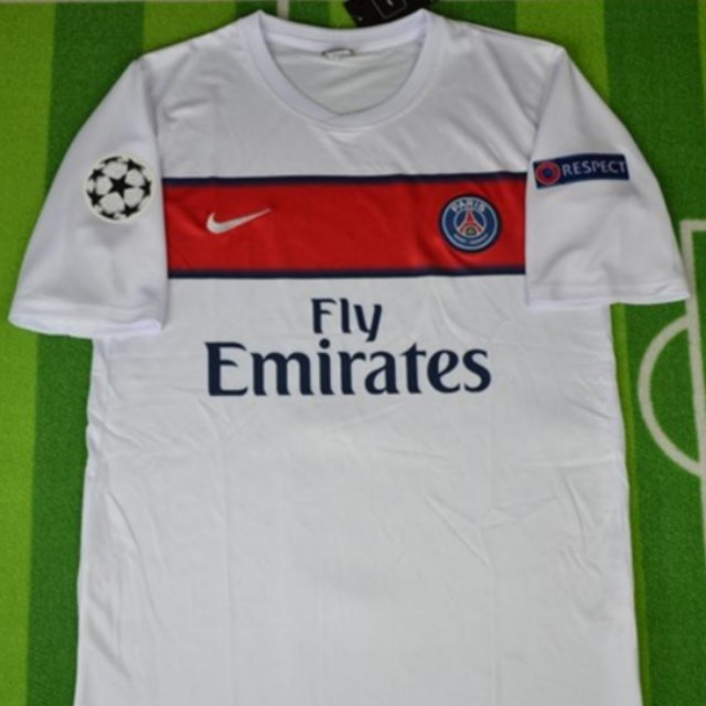 low priced 5241d 459a7 Retro PSG 12/13 3rd Kit Jersey, Sports, Sports Apparel on ...