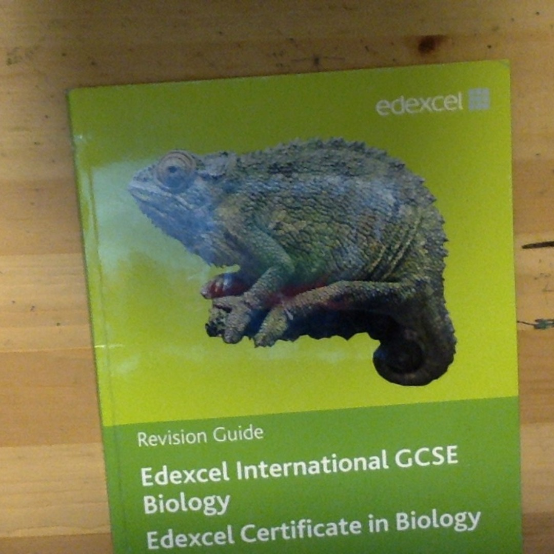 Revision Guide - Edexcel International GCSE Biology + CD - Pearson, Books &  Stationery, Textbooks, Secondary on Carousell