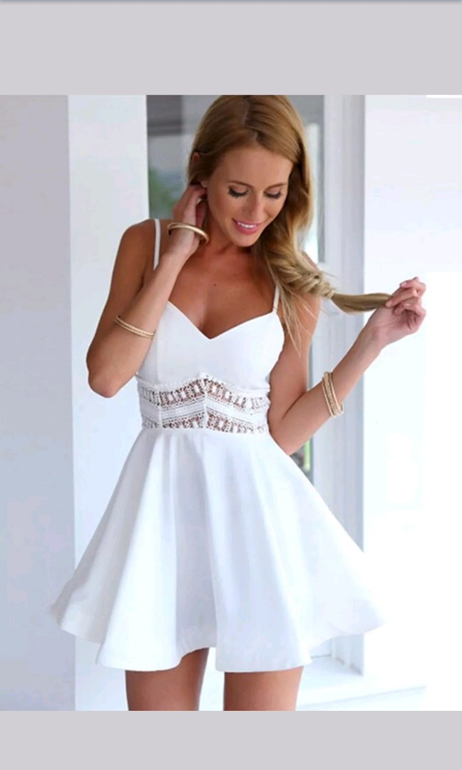 b7034669e0d Sexy Women Sleeveless Casual Summer Evening Cocktail Party Lace Mini ...