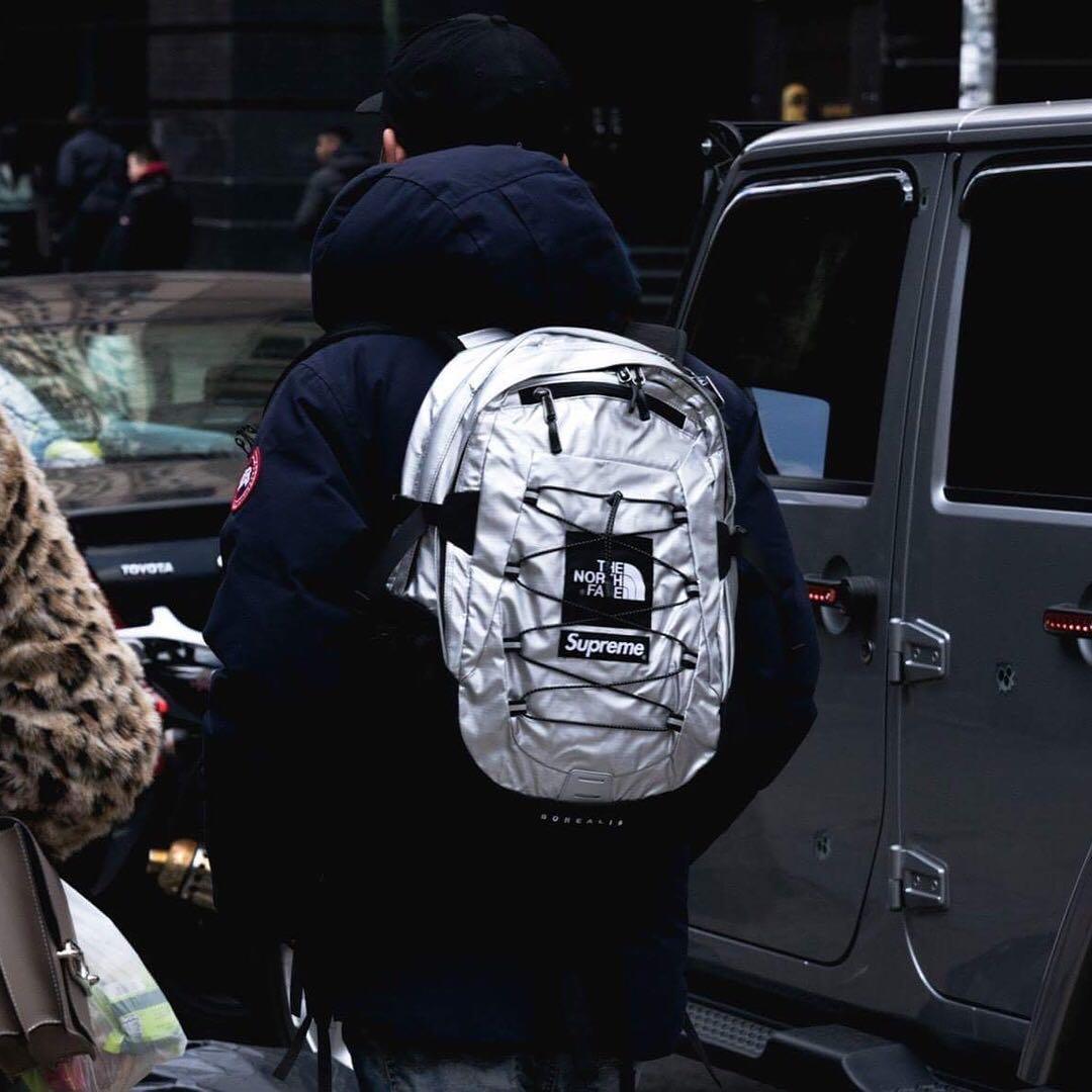 3a938e8ef Supreme SS18 The North Face Metallic Borealis Backpack, Men's ...