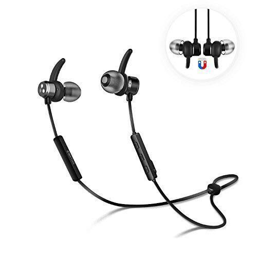 769f7fb994d Syllable Wireless Bluetooth 4.2 Magnetic Stereo Earbuds, Electronics ...