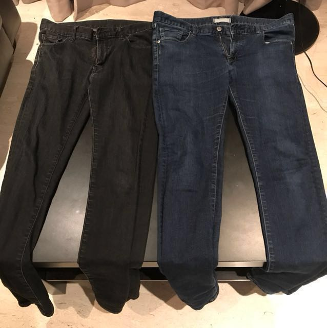 6d32092dbd Two Uniqlo (size 33) & 1 GAP pants (size 32) - Skinny Fit, Women's ...