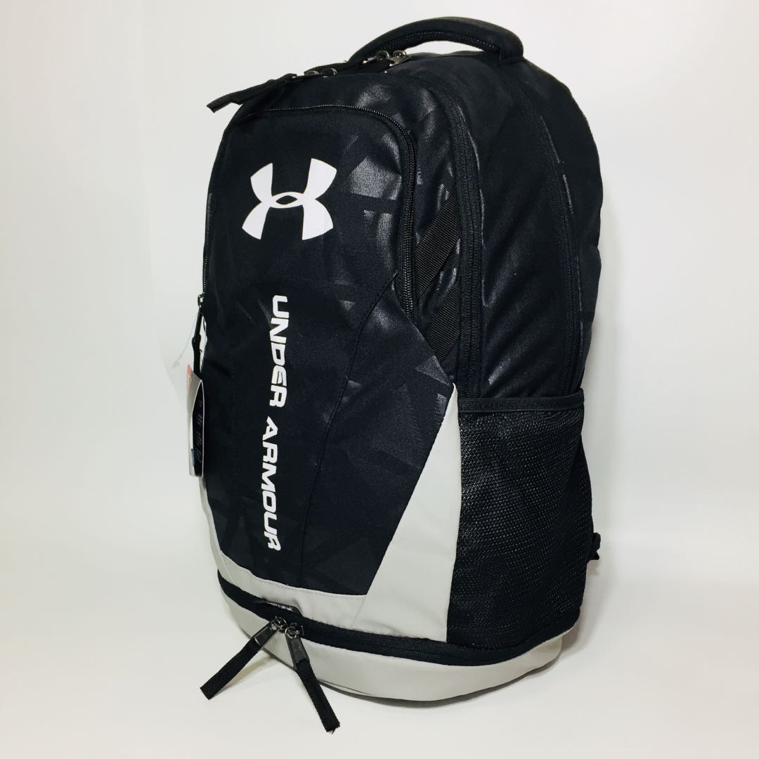 Under Armour UA Hustle 3.0 Backpack, Sports, Sports Apparel on Carousell aa0fc968db