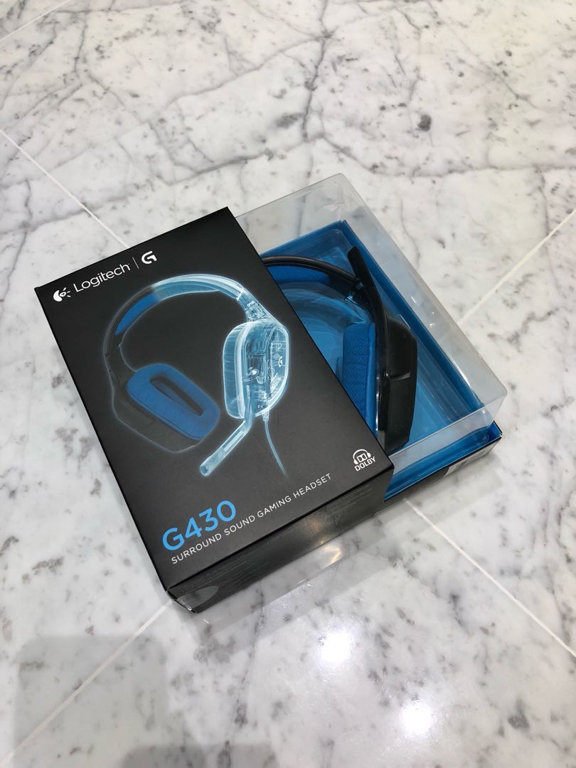 3b61e47eabe Used Logitech G430 7.1 gaming headset, Toys & Games, Video Gaming ...
