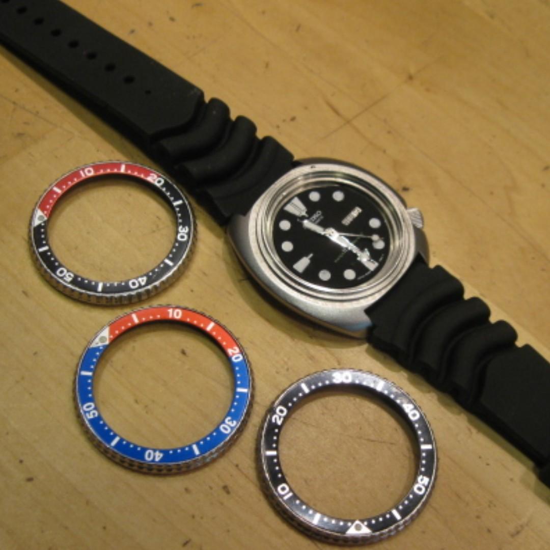 Vintage Seiko Bezel, Old Seiko Parts, Rare Seiko Watch