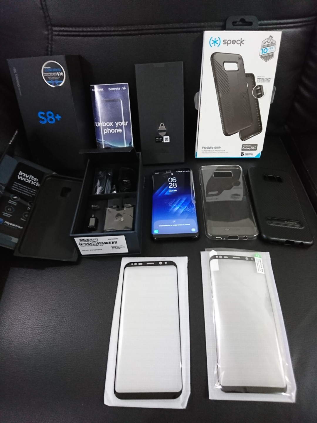 Wts Samsung Galaxy S8 Plus Black 64gb Mint Condition Mobiles Photo