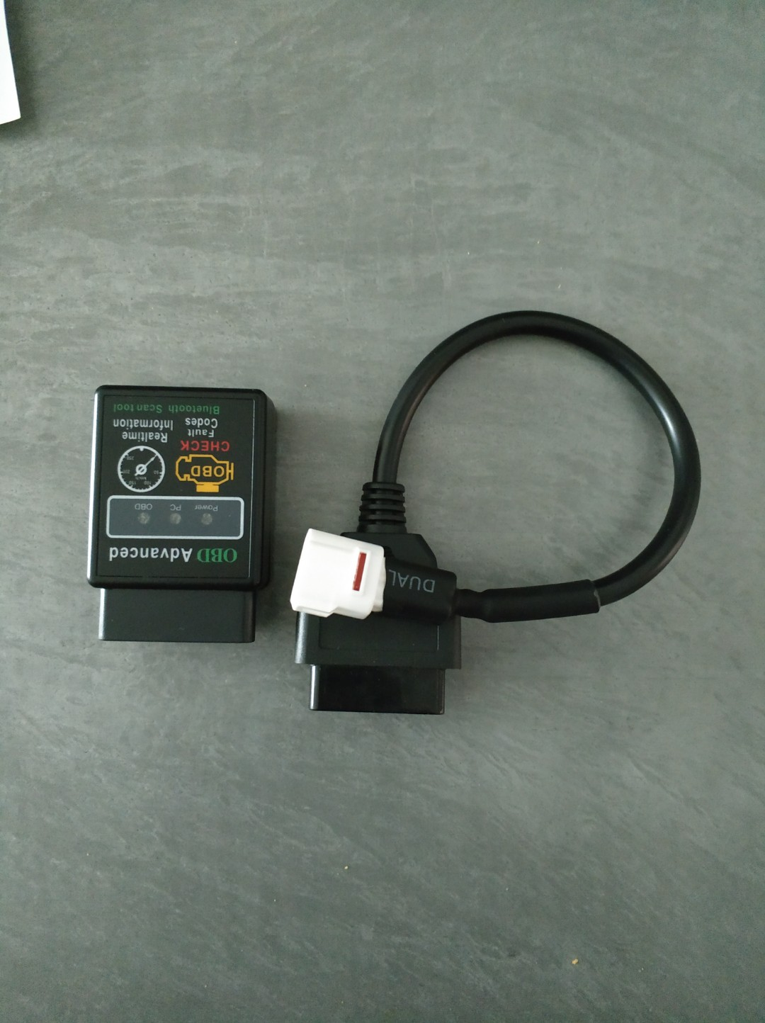 Yamaha diagnostic tool connector for ODB2, Motorbikes
