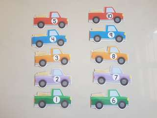 Truck Theme Number Activities