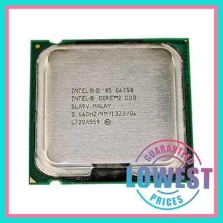 CPUcore2duo e6750