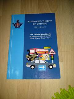 Advanced Theory of Driving (6th Ed)
