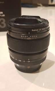 Fujifilm lens 23mm f 1.4