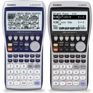 GDC - Casio fx-980GII SD IB DIPLOMA MATH SL STANDARD LEVEL HIGHER LEVEL MATH STUDIES INTERNATIONAL BACCALAUREATE graphing calculator