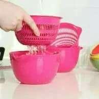 Keranjang baskom pencuci buah dan sayuran