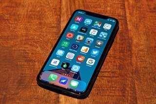 iPhone X 256gb Black 無花