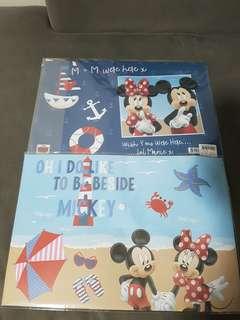 Mickey & Minnie Button File