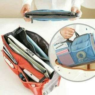 Dual bag in bag organizer
