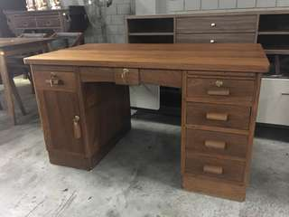 Vintage (Burma teakwood) writing table