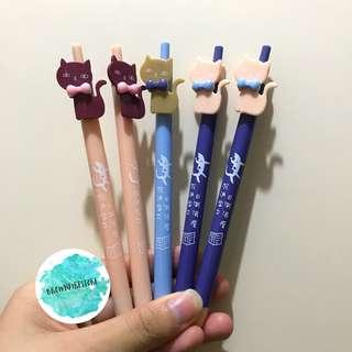 可愛貓貓原子筆💕藍色