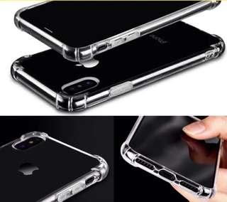 Anti crack case iphone X