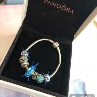 Pandora whole bracelet (Can be sold seperately)