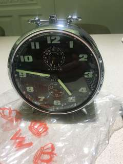 Vintage Wehrel Alert Alarm Clock Made In Germany Rare with Original Box 全新 德國製 鬧鐘