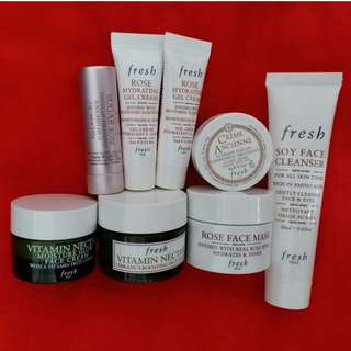 Fresh 旅行裝 Travel Kit/ Samples ($25 or above)