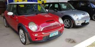 Mini Cooper Red 2001