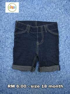 18 month - Short Pants Kids