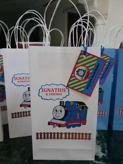 Thomas the Train Goodie bag or Paper bag