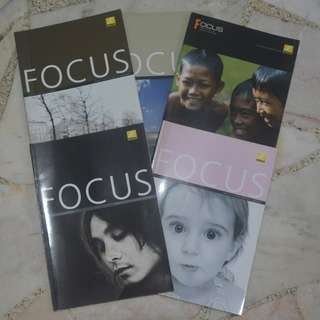 fOCUS PHOTOGRAPHY MAGAZINES (5 For $2)