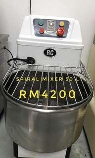 Spiral Mixer 50L