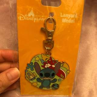 Disney stitch keychain pin exchange