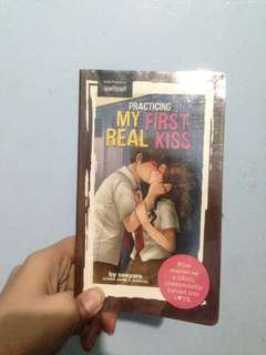 Wattpad book: Practicing My Real First Kiss