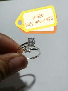 Italy silver 925 lady ring