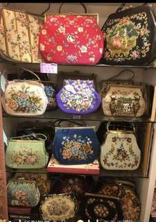 La BLANCHE Vintage bags purse handbag 古董手袋 復古 懷舊