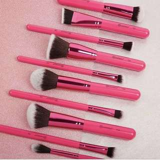 🚚 BH Cosmetics Sculpt and Blend Fan Faves 10 Brush Set
