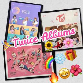 🎉OFFICIAL! Twice Albums