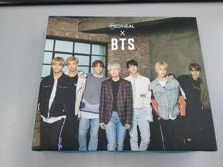 Mediheal X BTS Skin Soothing Care Full Set (Masks + Photocards)