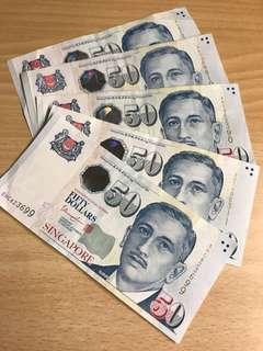 $50新加坡元🇸🇬 (跟找換價放出)