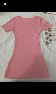 Baby pink dres