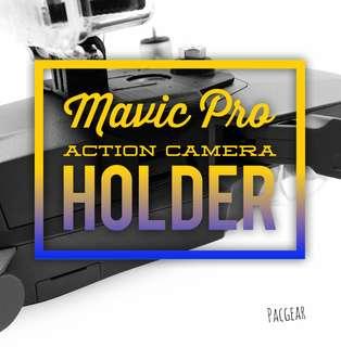 StartRC 3D Printed Action Camera Mount for DJI Mavic Pro Platinum