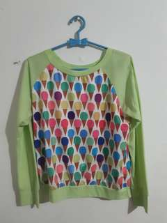 Sweater ice cream (green)