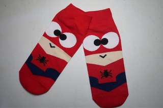 Novety super hero socks(Spiderman)